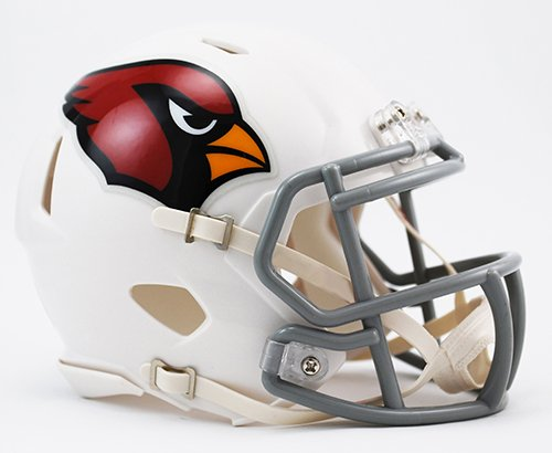 Arizona Cardinals Riddell Speed Mini Football Helmet - New in Riddell Box
