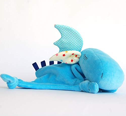 (Lovie Blankie Animal Security Blanket Baby Plush Snuggle Blanket Gift)