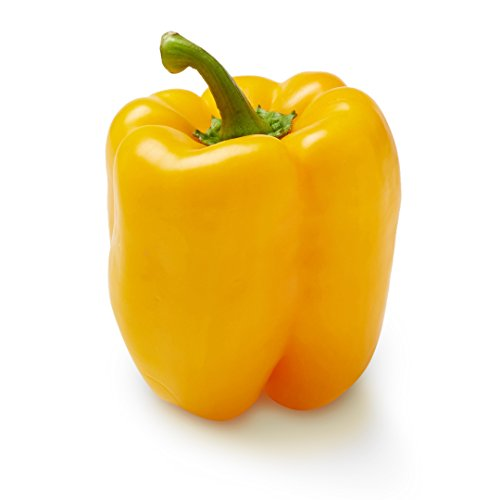 Yellow Bell Pepper, One Medium