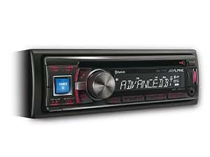 Alpine CDE-133BT - Radio CD/controlador de USB y de iPod/Bluetooth con A2DP integrado
