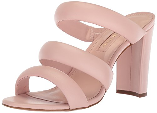 Avec Les Filles Women's Mara Heeled Sandal, avec Pink Nappa, 7.5 M US