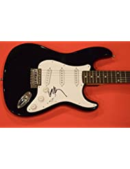 Willie Nelson Signed Autographed Electric Guitar Outlaw Country Music Star COA
