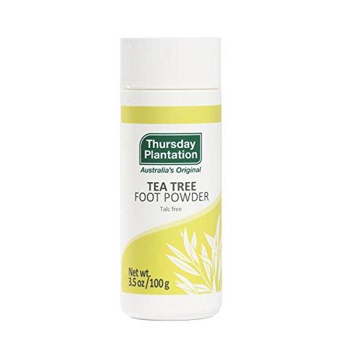 Tea Tree Foot Powder Thursday Plantation 100 g Powder by Nature's - Mall Plantation