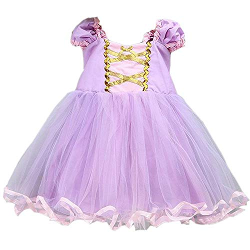 Princess Girl Dress Little Mermaid Cinderella Rapunzel Costume