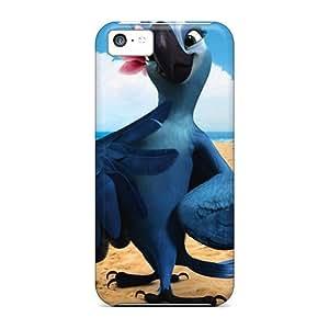 Cute Tpu DreamDate Jewel Rio Cartoons Case Cover For Iphone 5c