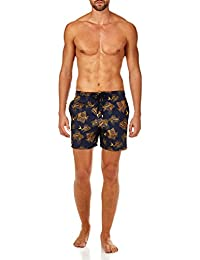 Prehistoric Fishes Packable Swim Shorts