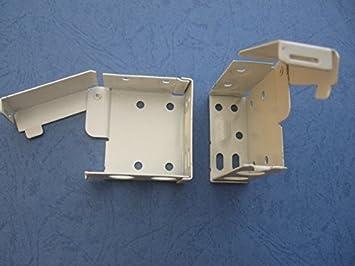 Uk-blindparts 1 par de soportes para caja de persianas venecianas grandes para caja superior de 58 mm x 53 mm.: Amazon.es: Hogar