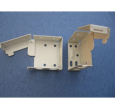uk-blindparts 1 par de soportes grandes para caja superior de 58 mm x 53 mm: Amazon.es: Hogar