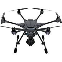 Yuneec Typhoon H PRO Hexacopter with Intel RealSense Collision Avoidance Drone with CGO3+ 4K Camera, ST16, 2 Batteries, Backpack, Wizard Plus Free 64GB Micro SD and Jestik Microfiber Cloth.