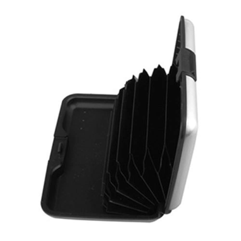 Plus Mi Life Waterproof Business ID Credit Card Wallet Holder Aluminum Metal Pocket Case