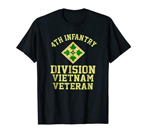 4th Infantry Division Vietnam Veteran Shirt ()