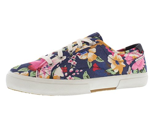 Skechers Sport Womens Le Club Tropical Fashion Sneaker Navy XjCuljPK