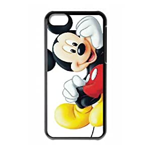 iPhone 5c Phone Case Covers Black Mickey Mouse MHM Fashion Phone Cases Hard