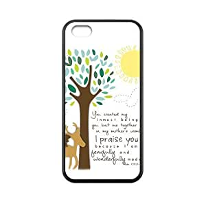 MMZ DIY PHONE CASECustom Bible Verse Back Cover Case for iphone 4/4s JN5C-310