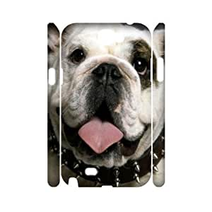 Bulldog Dog Discount Personalized 3D Cell Phone Iphone 5C , Bulldog Dog Iphone 5C 3D Cover hjbrhga1544