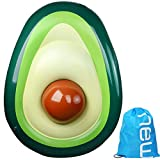 """F.O.T Avocado Swimming Ring,Inflatable Swim Pool Float Lounger Hammock, Fun Cool Party Water Inflatable Luxury Swimming Pool Float 63""""X43.3"""""""