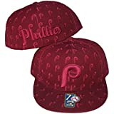 Philadelphia Phillies DICE Fitted Size 8 Cooperstown Collection Hat Cap Burgandy