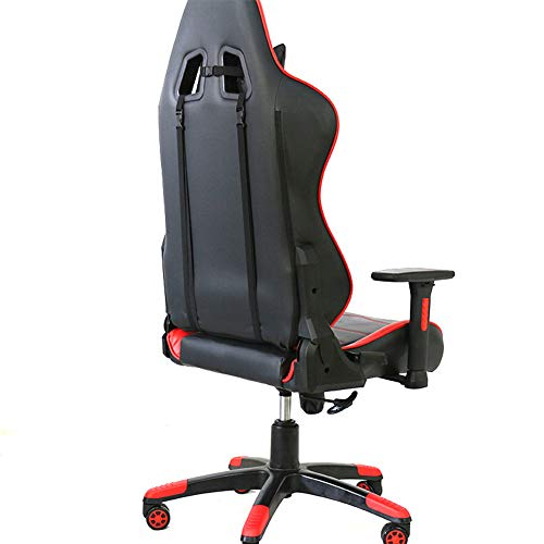 Stolar, kontorsstolar, fåtöljer, justerbara professionella spelstolar för E-sport för E-sport, kontor datorstol ergonomisk hem svängbar stol, 150 ° viloläge