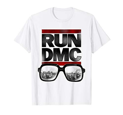 Run DMC Official NYC Glasses T-Shirt ()