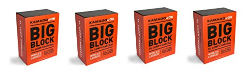 Kamado Joe, KJ-CHAR, Lump Charcoal (4-Pack) by Kamado Joe