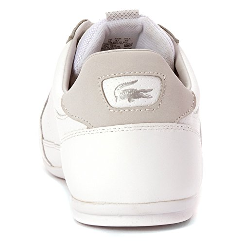 Grey Sneaker Prm Mens Light Lacoste Lacoste Chaymon White Mens Fashion fxZO6qwfB