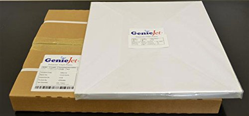 13''x19 3/8'' GenieJet Plates, .008 gauge, in a box of 100 plates by Psd