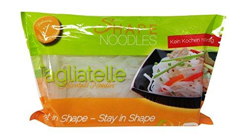 Shape Noodles Tagliatelle, 4er Pack (4 x 390 g)