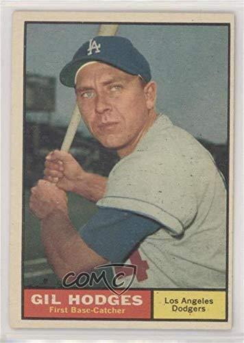 Amazoncom Gil Hodges Baseball Card 1961 Topps Base