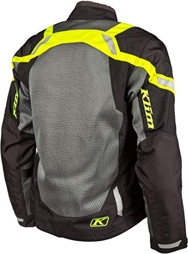 Klim Induction Mens Street Motorcycle Jackets - Hi-Vis/X-Large