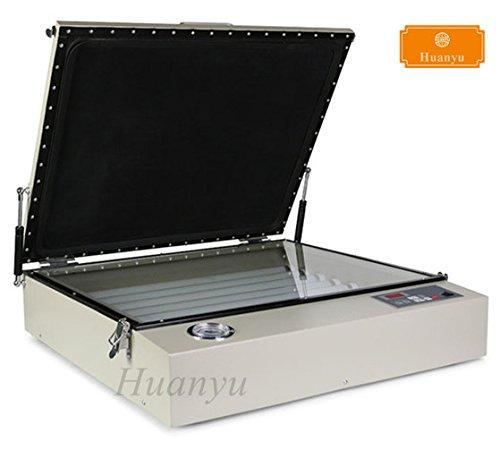 Huanyu Vacuum UV Exposure Unit Screen Printing Machine Digital Stamping PCB Drying Machine 50cmx60cm (20''x24'') (220V,50HZ) by Huanyu Instrument