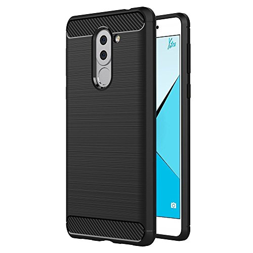 Funda para Huawei Mate 9 Lite / Honor 6X / GR5 2017 (5,5 Pulgadas) TPU Silicona Carcasa Fundas Protectora con Shock...