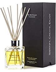 To Be Calm Traveler's Journey Reed Diffuser, black