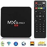 Android 6.0 Tv Box, Mxq Pro Am Logic S905X Quad Core 64 Bit 1/8 G Uhd 4K 60 Fps H.264 Media Center Smart Ott
