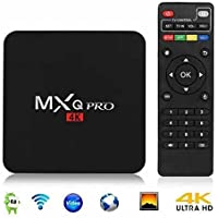 Android 6.0 TV Box, ELIKER MXQPro AmLogic S905X Quad-core 64-Bit 1G 8G UHD 4K 60fps H.264 Streaming Media Players