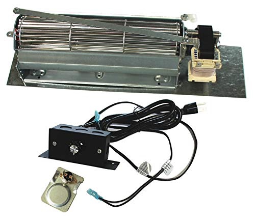 Hyco FK24 Fireplace Blower Fan kit for Majestic, Vermont Castings, Monessen, CFM, Northern, Rotom ()