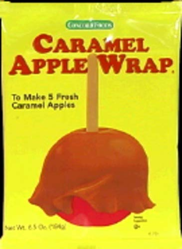 - Concord Confections Caramel Apple Wrap, 5 Count
