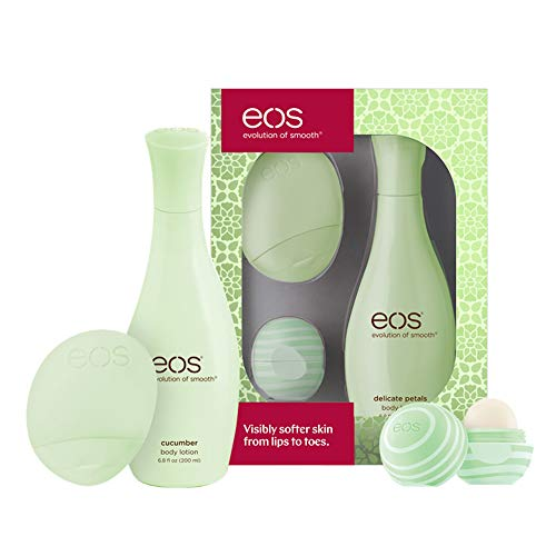 eos Cucumber Lip & Lotion Gift Set | 24 Hour Moisture & Lasting Hydration|