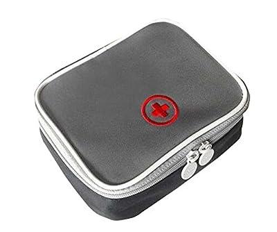 Small Travel Medicine Bag Organizer Camping Sport Medical Emergency Storage Pouc