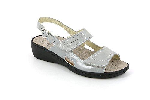 GRUNLAND SE0156 Esta Sandalo Donna P. Grigio 40