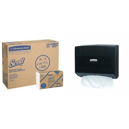 Kimberly-clark IN-SIGHT Scottfold Compact Towel Dispenser...