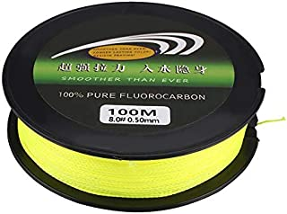 ARFUTE 100M Super Strong PE Braided Fishing Line Portable 4 Strands Weaves Fish Rope