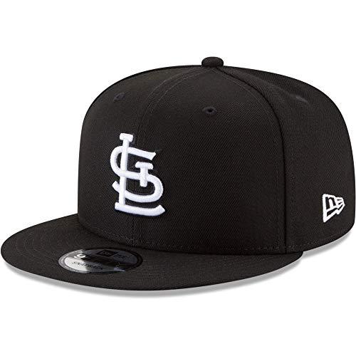 New Era 9Fifty Hat St. Louis Cardinals Basic Black Snapback Adjustable Cap