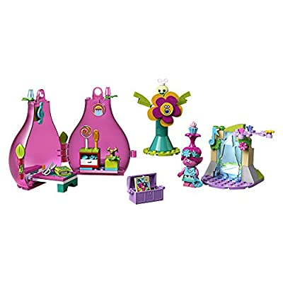 LEGO Trolls World Tour Poppy's Pod 41251 Trolls Playhouse Building Kit with Poppy Troll Minifigure, New 2020 (103 Pieces): Toys & Games