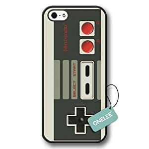 Onelee(TM) - Black Hard Plastic Nintendo Controller iPhone 5s case & Cover - Black 1