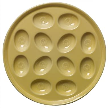 Fiesta 11-Inch Egg Tray, Sunflower