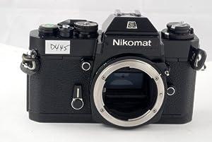 Black Nikon Nikkormat EL SLR film camera; body only