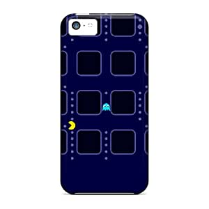 For Iphone 5c Protector Case Pacman Blue Phone Cover