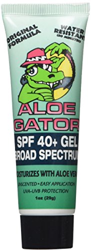 Aloe Gator SPF 40+ Gel (Aloe 80 Facial Wash)