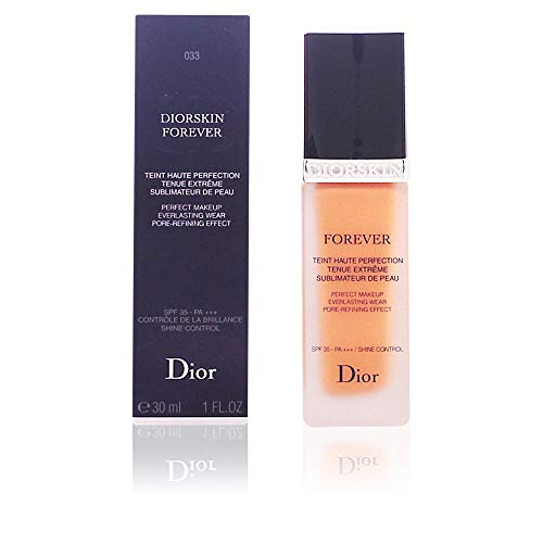 (Christian Dior skin forever Perfect Makeup Everlasting Wear SPF35, 033 Apricot Beige, 1 Ounce)