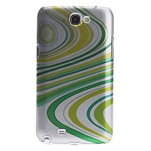 Buy 3D Effect Stripe Pattern Hard Case for Samsung Galaxy Note 2 N7100